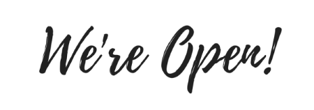 Nous restons ouverts